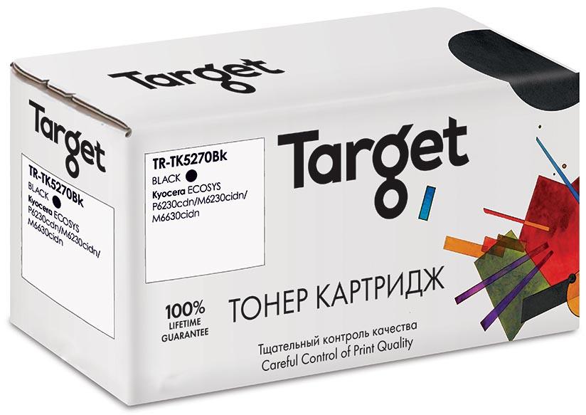 Картридж Target TR-TK5270Bk Black для Kyocera ECOSYS P6230cdn/M6230cidn/M6630cidn