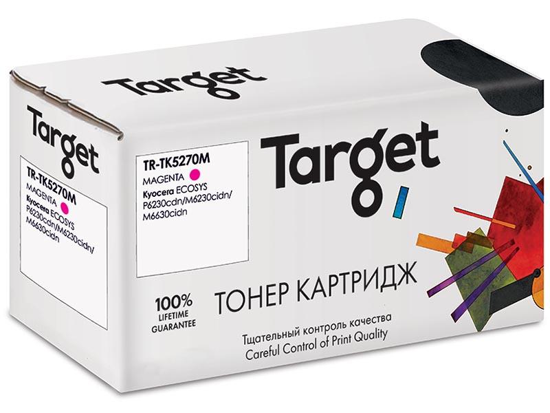 Картридж Target TR-TK5270M Magenta для Kyocera ECOSYS P6230cdn/M6230cidn/M6630cidn