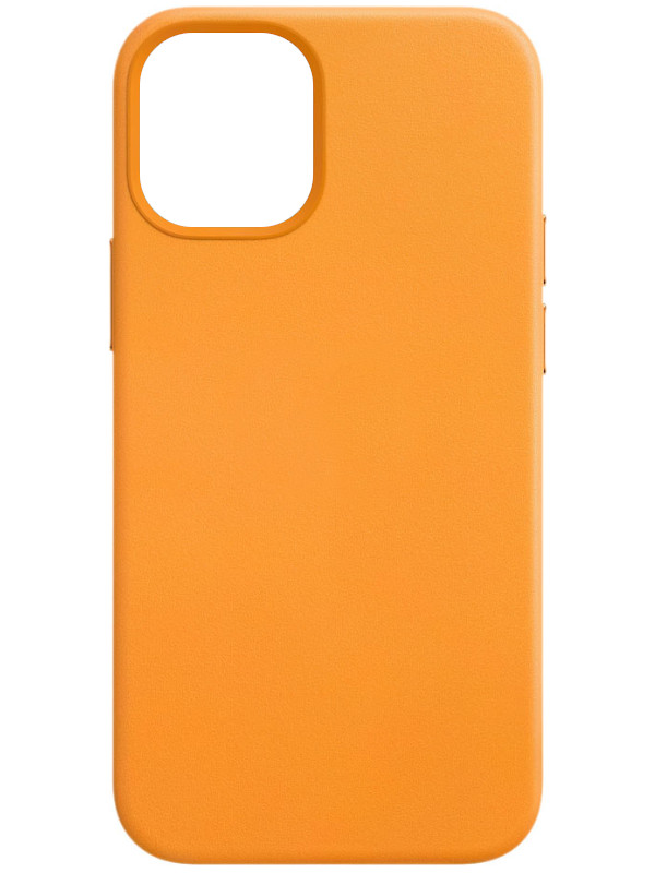 Чехол для APPLE iPhone 12 / Pro Leather Case with MagSafe California Poppy MHKC3ZE/A