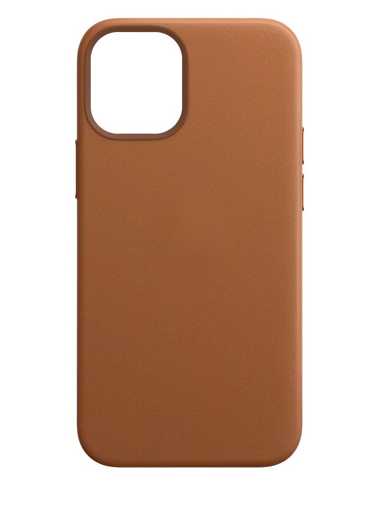 Чехол для APPLE iPhone 12 / Pro Leather Case with MagSafe Saddle Brown MHKF3ZE/A