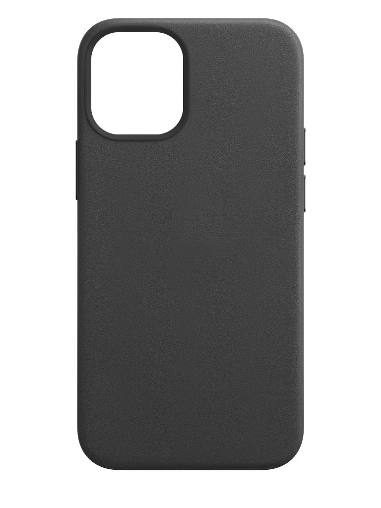 Чехол для APPLE iPhone 12 / Pro Leather Case with MagSafe Black MHKG3ZE/A