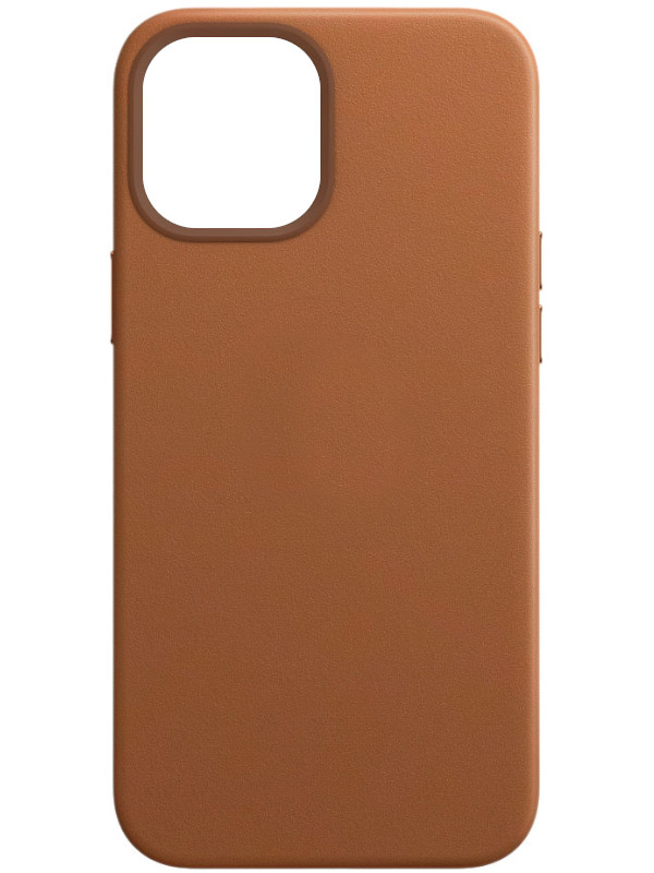 Чехол для APPLE iPhone 12 Pro Max Leather Case with MagSafeSaddle Brown MHKL3ZE/A
