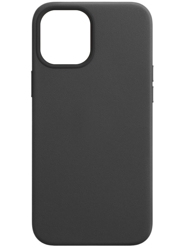 Чехол для APPLE iPhone 12 Pro Max Leather Case with MagSafe Black MHKM3ZE/A