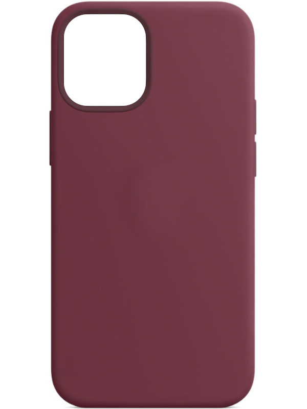 Чехол для APPLE iPhone 12 Mini Silicone Case with MagSafe Plum MHKQ3ZE/A