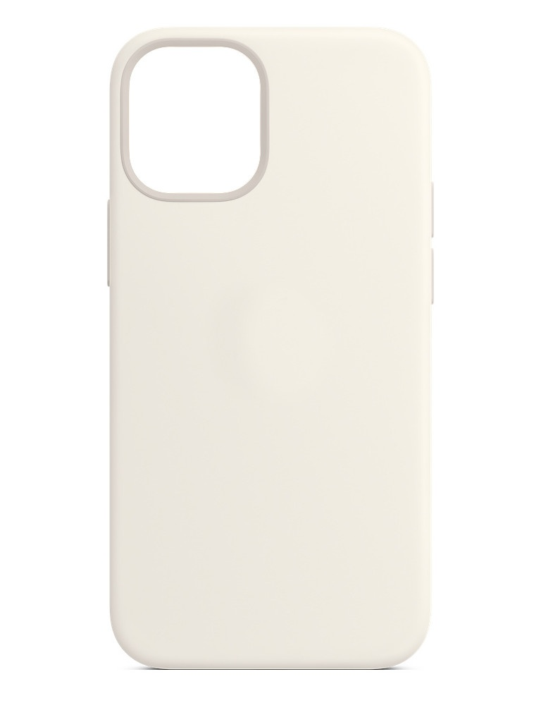 Чехол для APPLE iPhone 12 Mini Silicone Case with MagSafe White MHKV3ZE/A