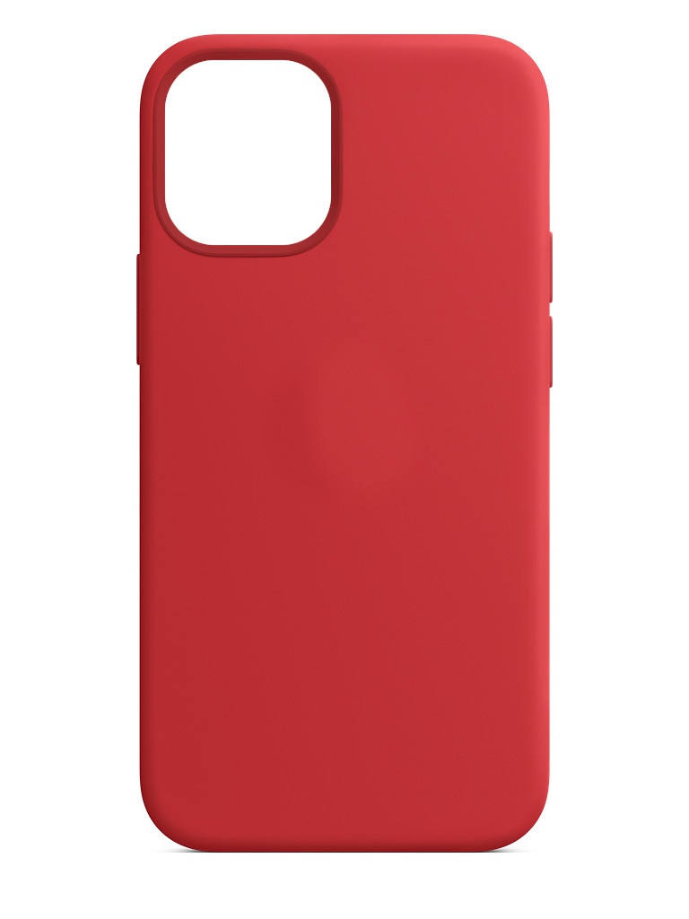 Чехол для APPLE iPhone 12 Mini Silicone Case with MagSafe Red MHKW3ZE/A