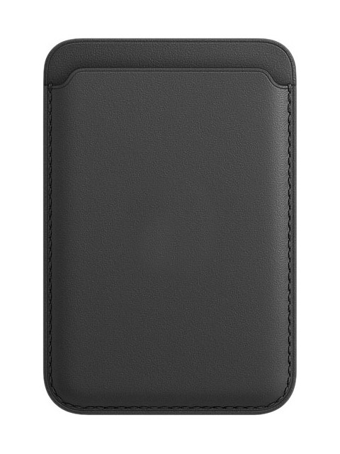 Чехол-бумажник APPLE iPhone Leather Wallet with MagSafe Black MHLT3ZE/A