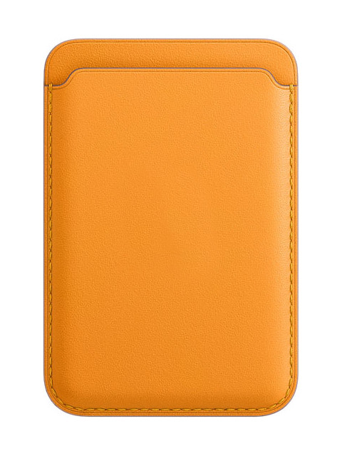 Чехол-бумажник APPLE iPhone Leather Wallet with MagSafe California Poppy MHLP3ZE/A