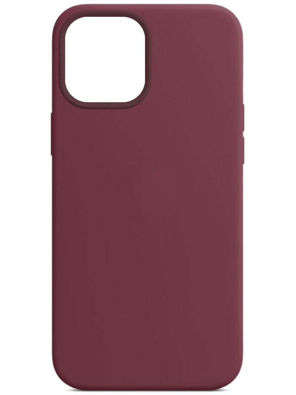Чехол для APPLE iPhone 12 Pro Max Silicone Case with MagSafe Plum MHLA3ZE/A