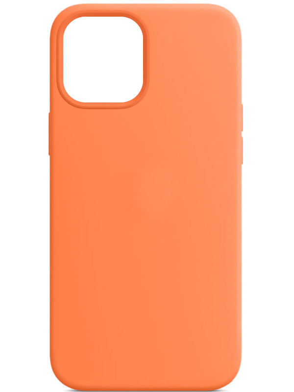 Чехол для APPLE iPhone 12 Pro Max Silicone Case with MagSafe Kumquat MHL83ZE/A