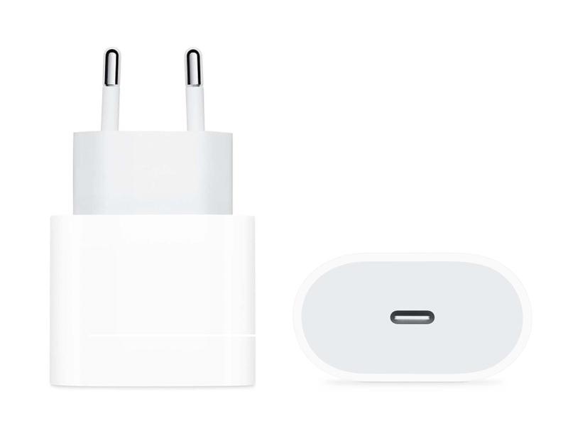 Фото - Зарядное устройство APPLE 20W USB-C Power Adapter MHJE3ZM/A сетевое зарядное устройство apple 30w usb c power adapter my1w2zm a
