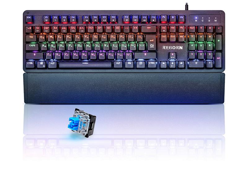 Клавиатура Defender Reborn GK-165DL 45165