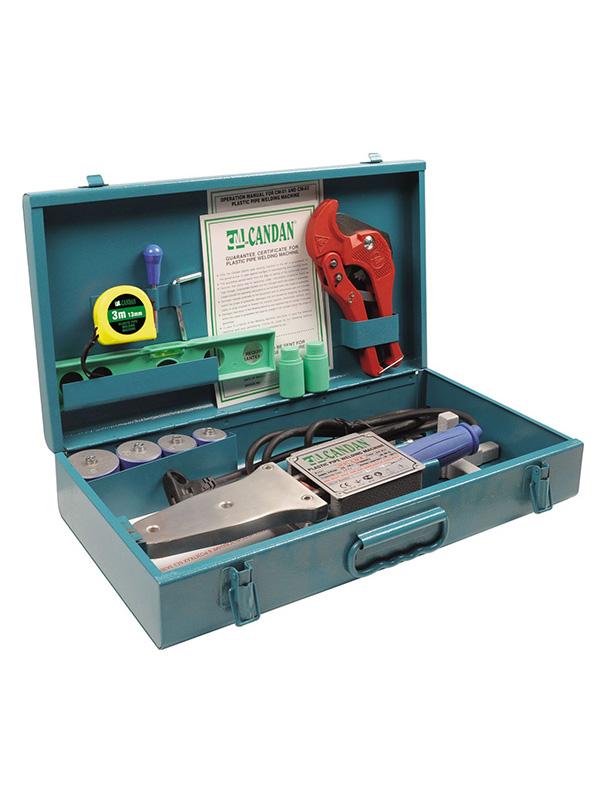 Аппарат для сварки пластиковых труб Candan CM-02 Set 700W PP-R