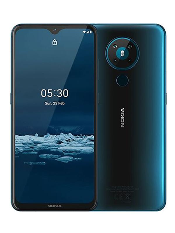 Сотовый телефон Nokia 5.3 (TA-1234) 4/64Gb Cyan Выгодный набор + серт. 200Р!!!