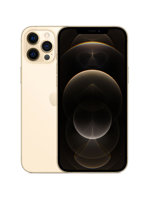 Фото - Сотовый телефон Apple iPhone 12 Pro Max 256GB Gold сотовый телефон apple iphone 12 pro 256gb graphite mgmp3ru a