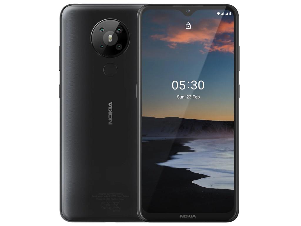 Сотовый телефон Nokia 5.3 (TA-1234) 4/64Gb Charcoal Выгодный набор + серт. 200Р!!!