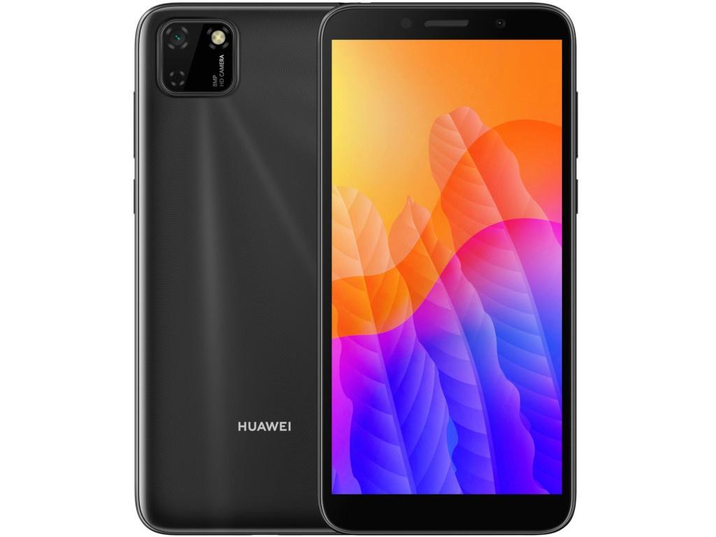 Сотовый телефон Huawei Y5p 2/32Gb Midnight Black Выгодный набор + серт. 200Р!!!
