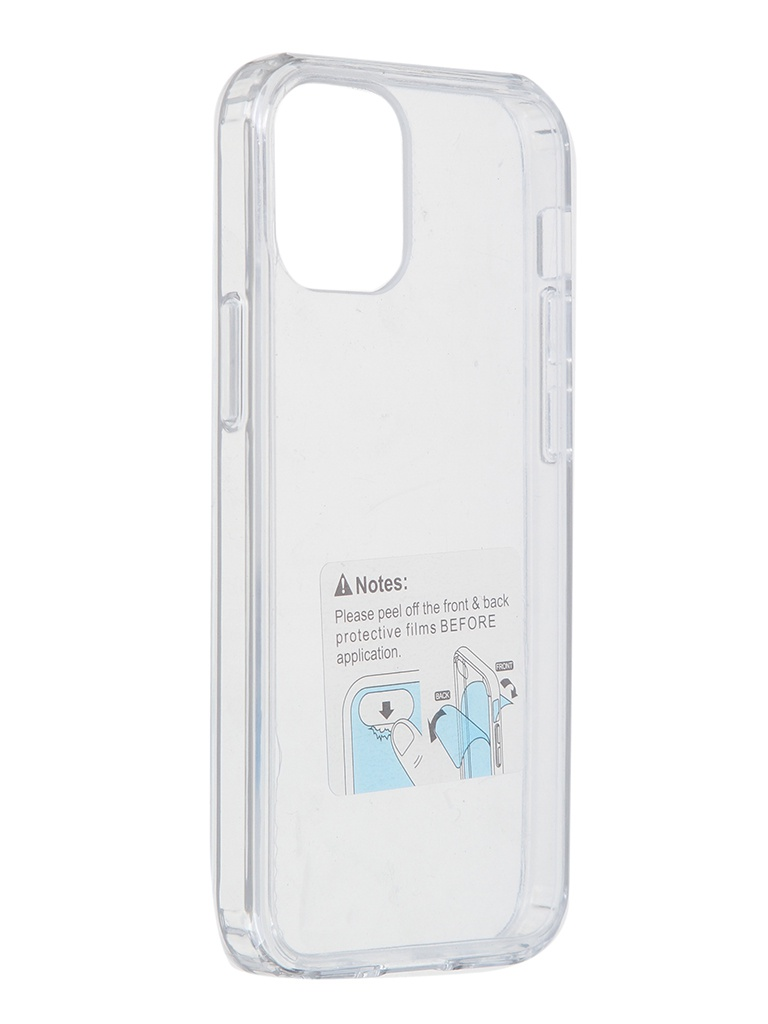 Чехол LuxCase для APPLE iPhone 12 Mini TPU+PC 2mm Transparent 63104