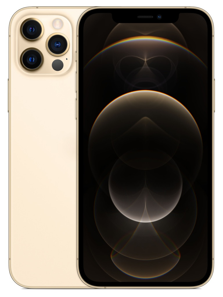 Сотовый телефон APPLE iPhone 12 Pro 256Gb Gold MGMR3RU/A