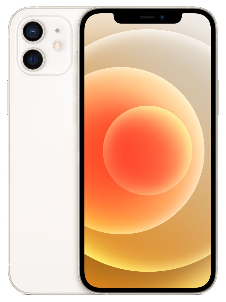 Сотовый телефон APPLE iPhone 12 64Gb White MGJ63RU/A