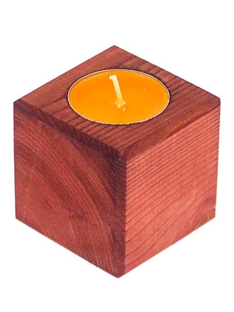 Blabar Подсвечник Красное дерево Апельсин DP-01-03