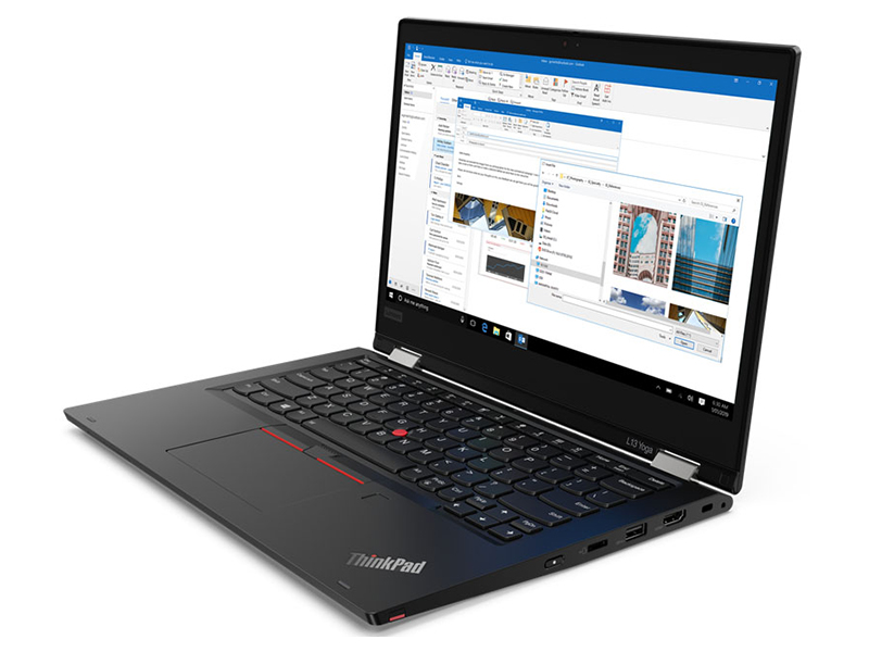 Ноутбук Lenovo ThinkPad L13 Yoga 20R5000LRT (Intel Core i7-10510U 1.8GHz/16384Mb/1000Gb SSD/Intel UHD Graphics/Wi-Fi/Bluetooth/Cam/13.3/1920x1080/Touchscreen/Windows 10 Pro 64-bit)