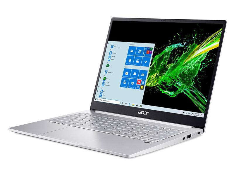 Ноутбук Acer Swift 3 SF313-52-77ZD NX.HQWER.008 (Intel Core i7-1065G7 1.8GHz/8192Mb/1000Gb SSD/Intel UHD Graphics/Wi-Fi/Bluetooth/Cam/14/2256x1504/Touchscreen/Windows 10 Pro 64-bit)