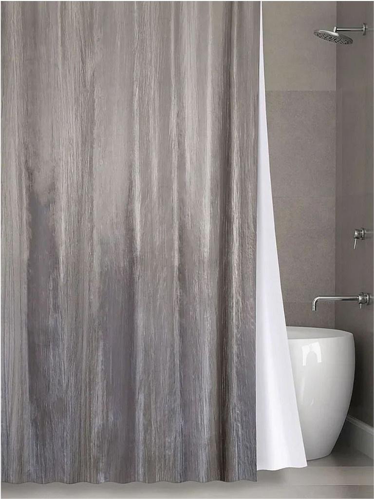 Шторка Bath Plus 180х200cm Grey NO WSV 030