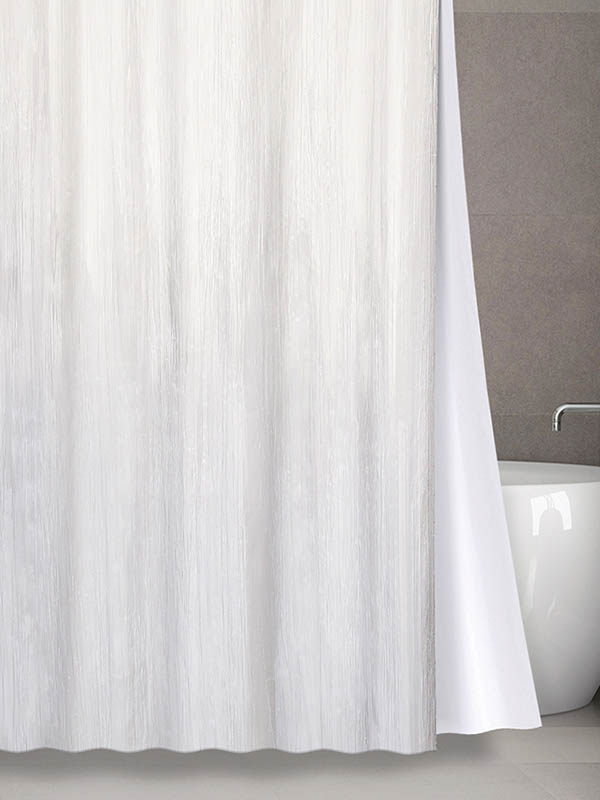 Шторка Bath Plus 180х200cm White NO WSV 028