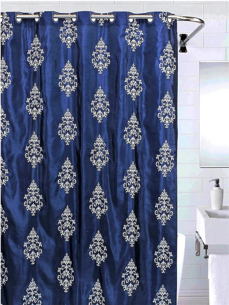 Шторка Bath Plus 180х200cm Dark Blue Effect AE1405 LC1405