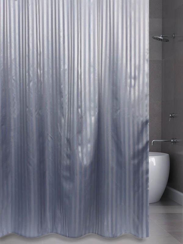 Шторка Bath Plus Hilton 180x200cm Grey SKH-02