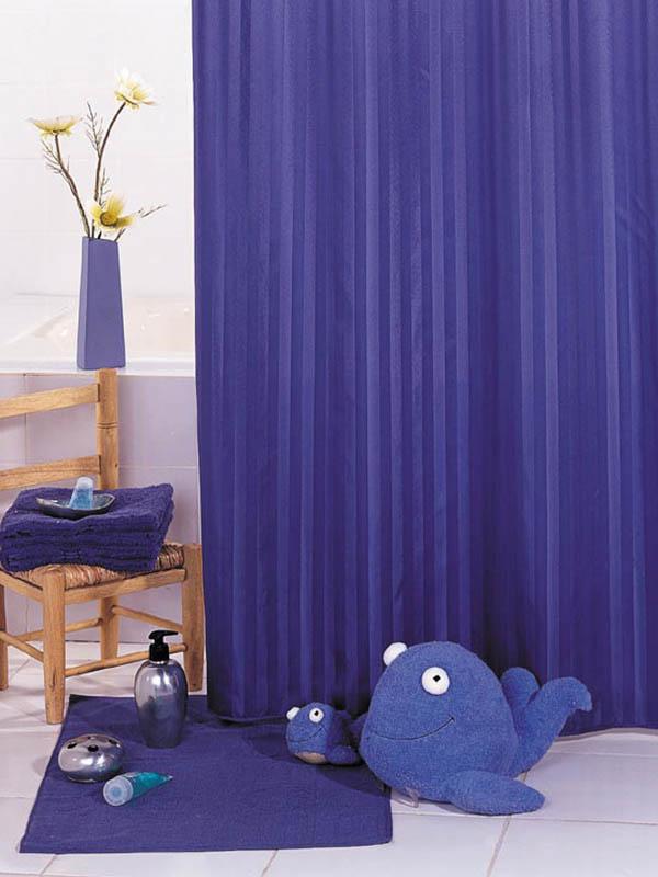 Шторка Bath Plus Hilton 180x200cm Blue SKH-03