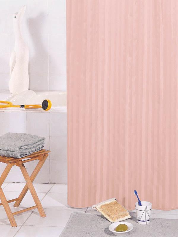 Шторка Bath Plus Hilton 180x200cm Pink SKH-04