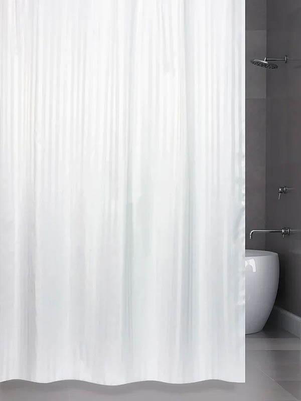 Шторка Bath Plus Hilton 180x200cm White SKH-01