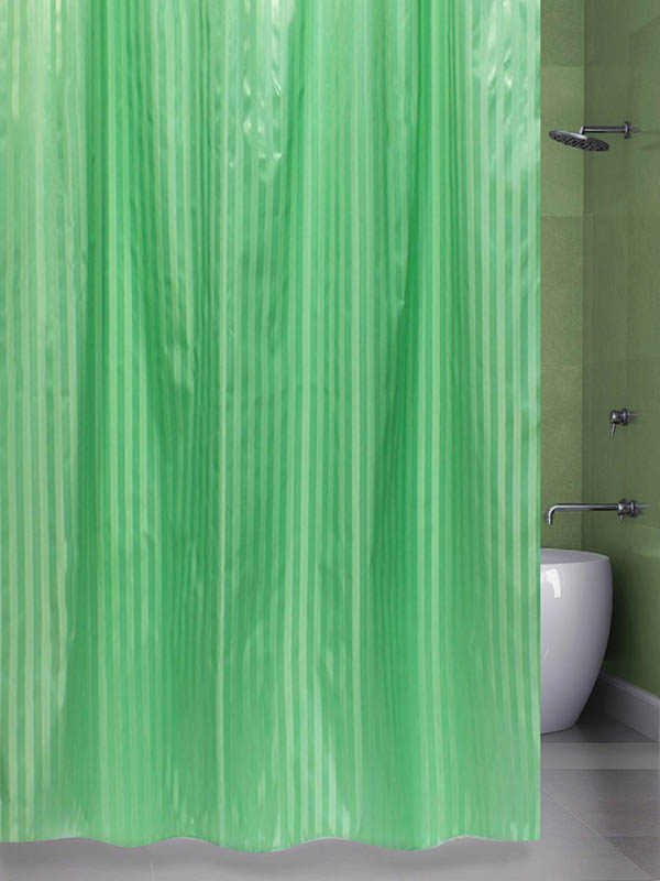 Шторка Bath Plus Big 200x240cm Green ST-004