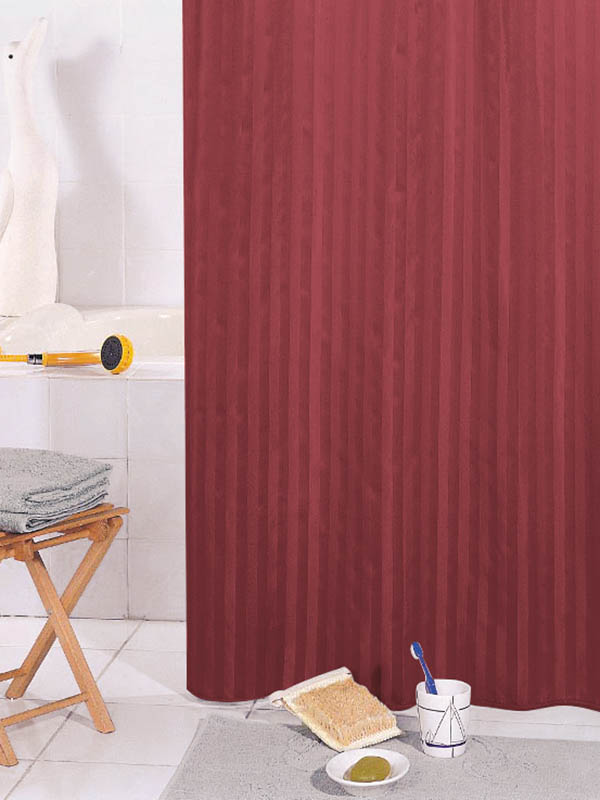 Шторка Bath Plus Big 200x240cm Bordo ST-006
