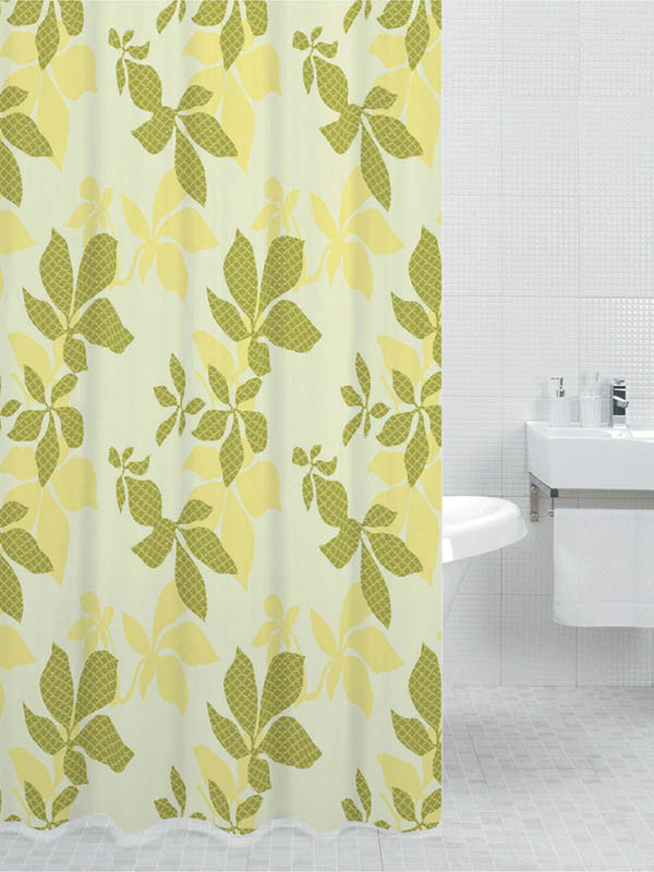 Шторка Bath Plus Chestbut Leaf 180x200cm DS3007