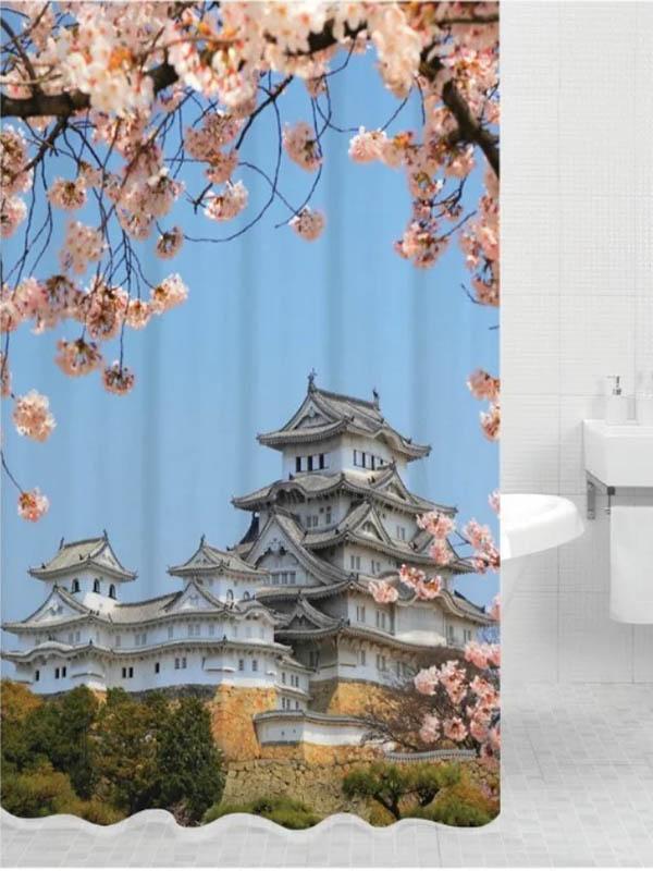 Шторка Bath Plus Kyoto 180x200cm DSP3023