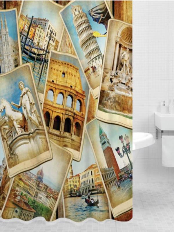 Шторка Bath Plus Italy 180x200cm DSP3030
