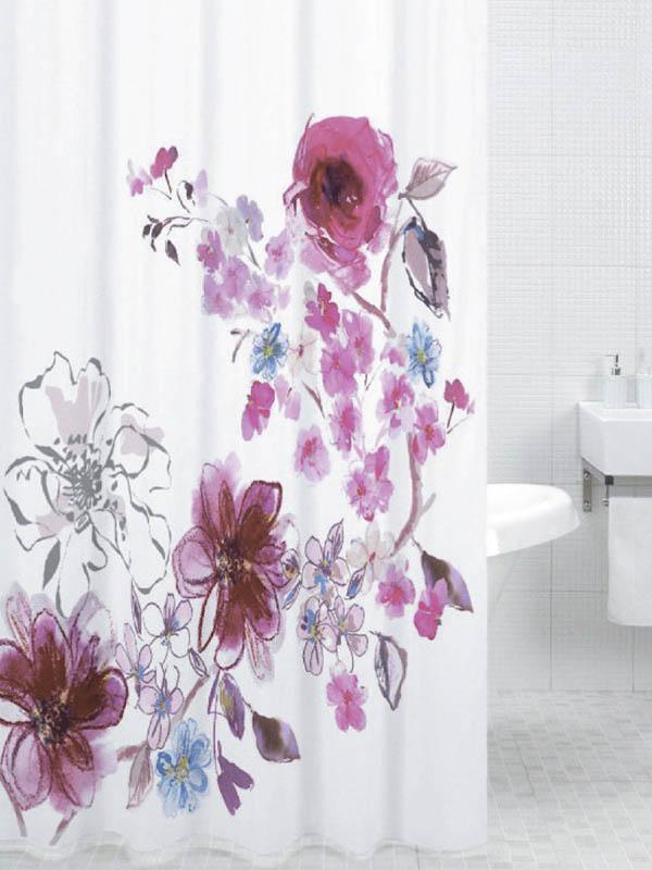 Шторка Bath Plus In Bloom 180x200cm DSP3018