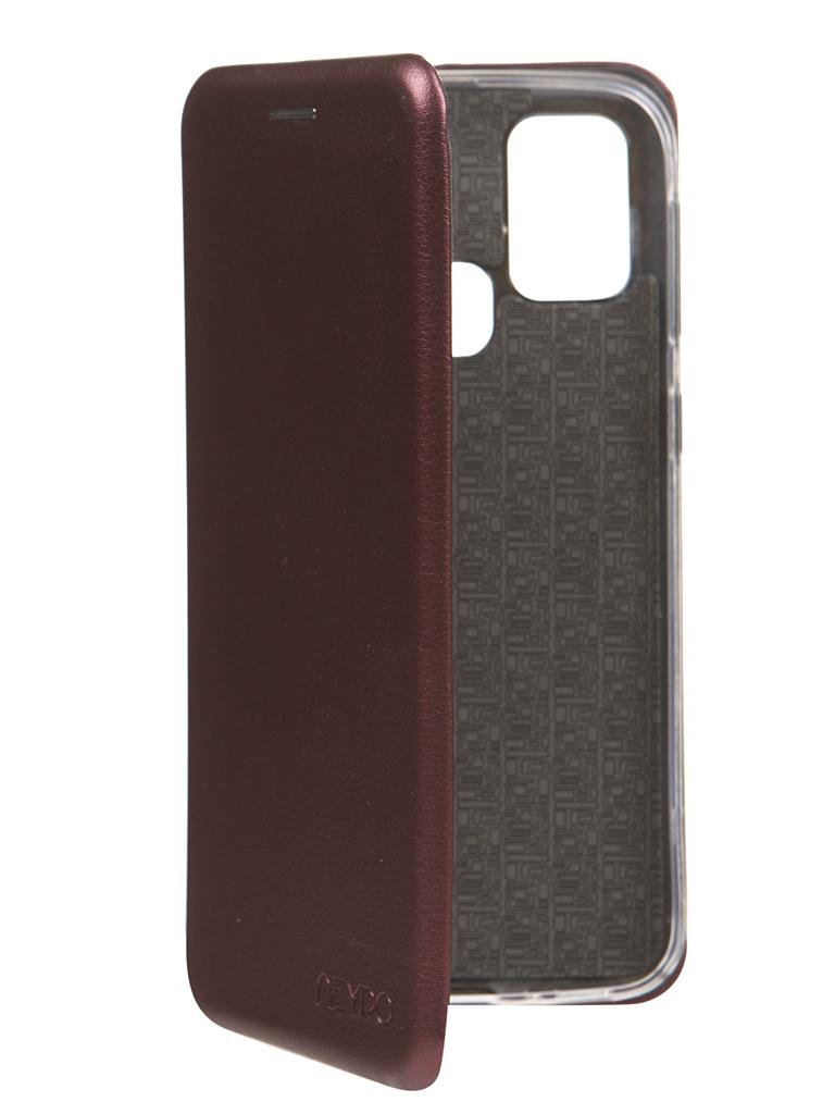 Чехол Neypo для Samsung Galaxy M31 2020 Premium Bordo NSB17190