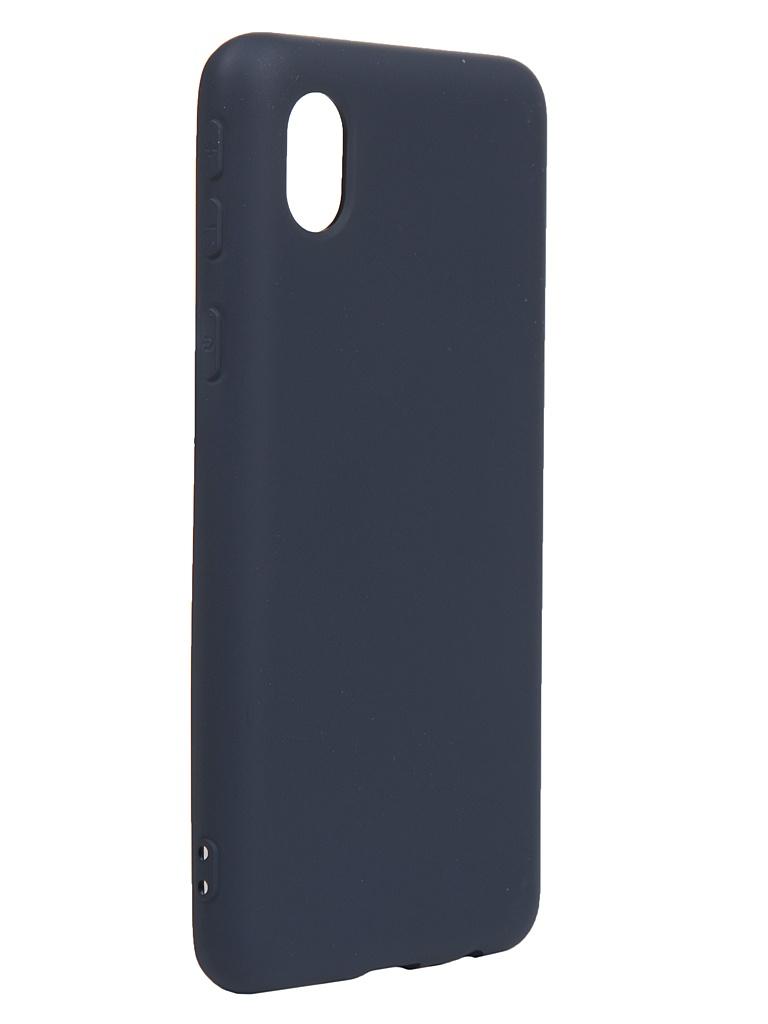 Чехол Neypo для Samsung Galaxy A01 Core 2020 Silicone Case 2.0mm Dark Blue NSC18684