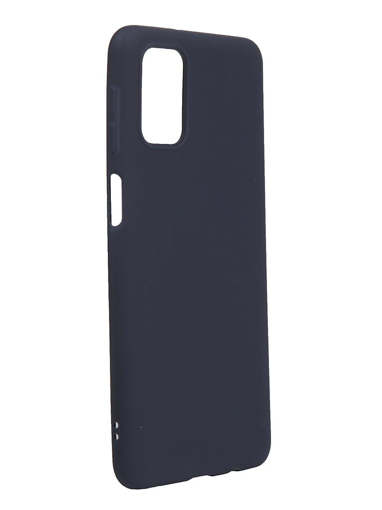Чехол Neypo для Samsung Galaxy M31s 2020 Silicone Soft Matte Dark Blue NST18696
