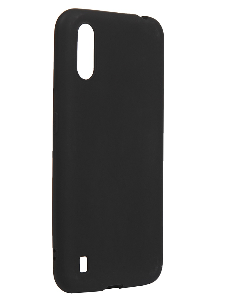 Чехол Neypo для Samsung Galaxy A01/M01 2020 Silicone Soft Matte Black NST16372
