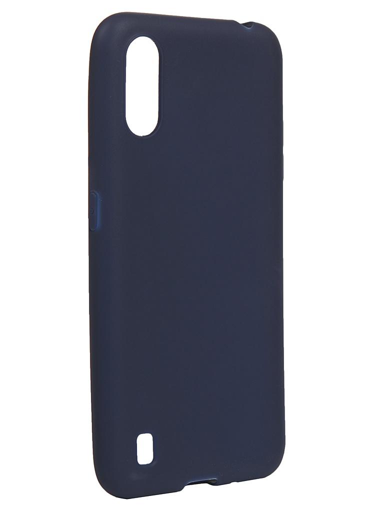 Чехол Neypo для Samsung Galaxy A01/M01 2020 Silicone Soft Matte Dark Blue NST16373