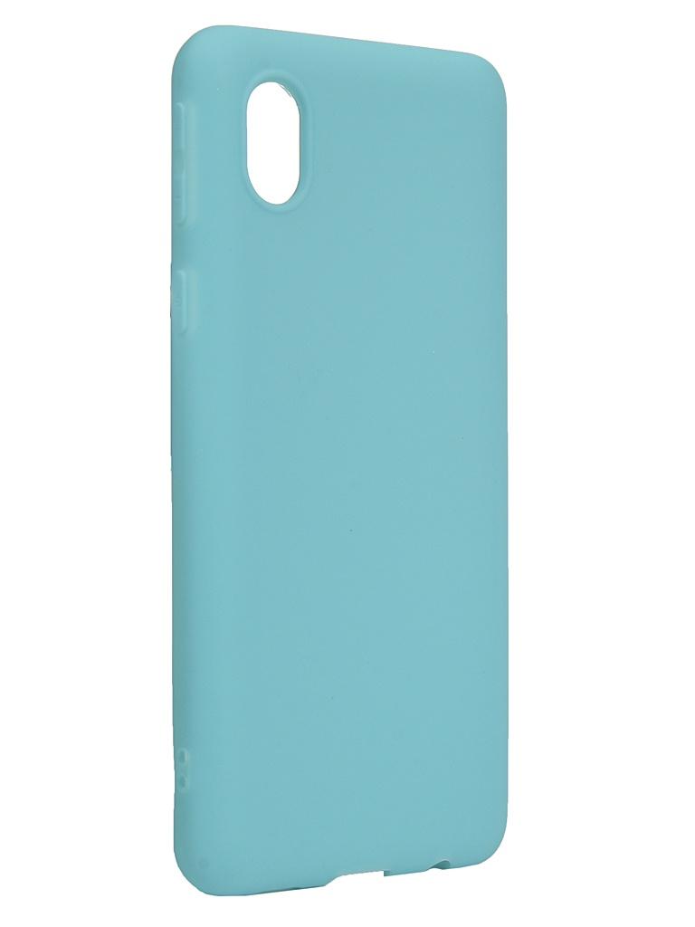 Чехол Neypo для Samsung Galaxy A01 Core 2020 Silicone Soft Matte Turquoise NST18525 чехол neypo для samsung galaxy a01 m01 2020 silicone soft matte black nst16372