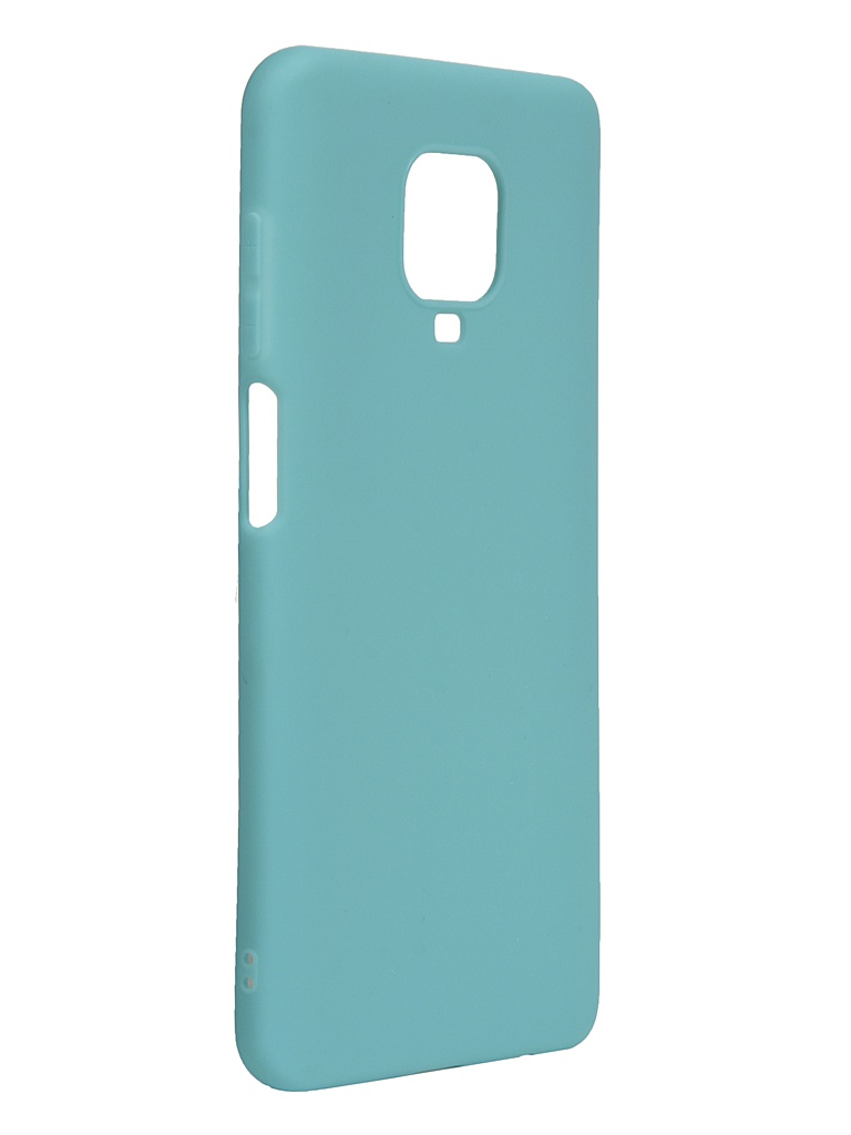 Чехол Neypo для Xiaomi Redmi Note 9S/9 Pro Silicone Soft Matte Turquoise NST17165