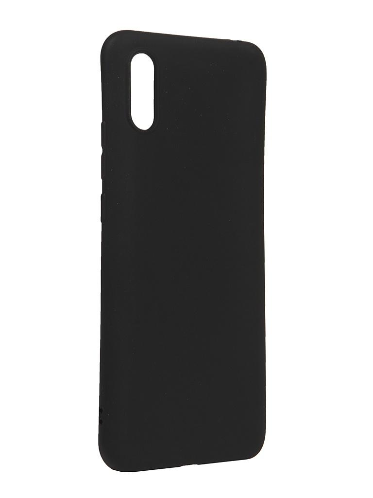 Чехол Neypo для Xiaomi Redmi 9A Silicone Soft Matte Black NST18060