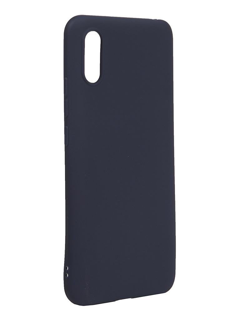 Чехол Neypo для Xiaomi Redmi 9A Silicone Soft Matte Dark Blue NST18151