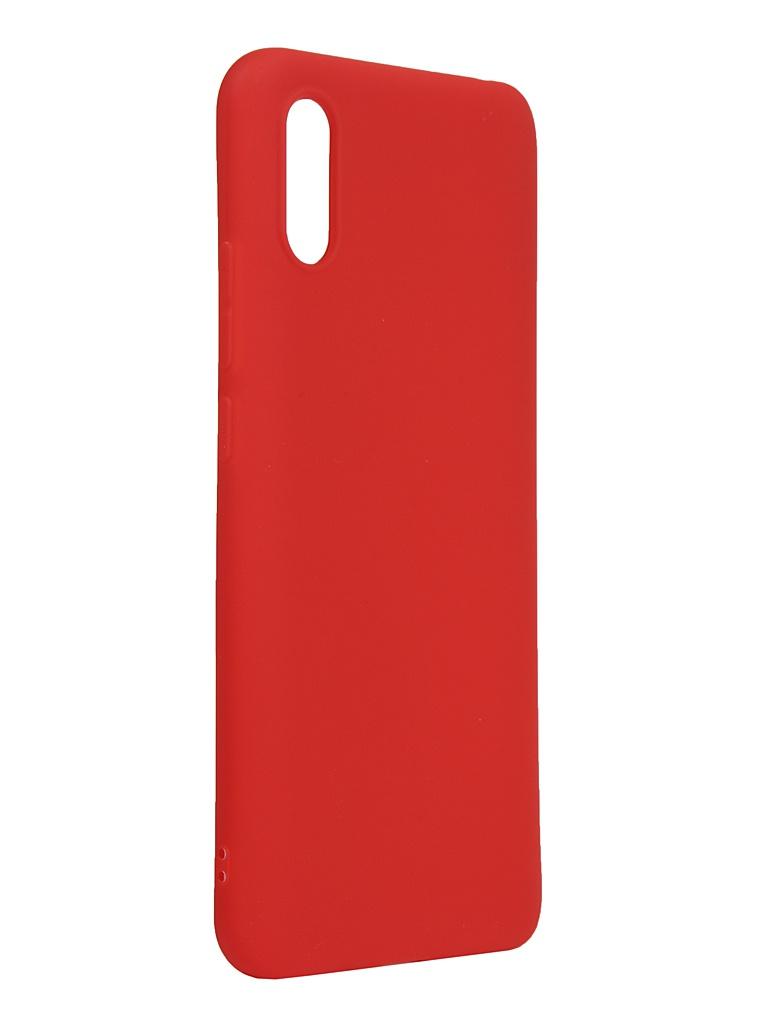 Чехол Neypo для Xiaomi Redmi 9A Silicone Soft Matte Red NST18149